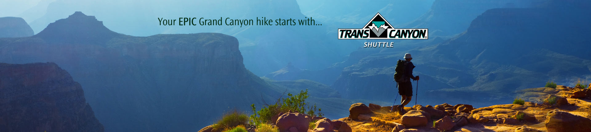 Trusted Grand Canyon Shuttle Service for Hikers